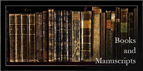 Books and Manuscripts