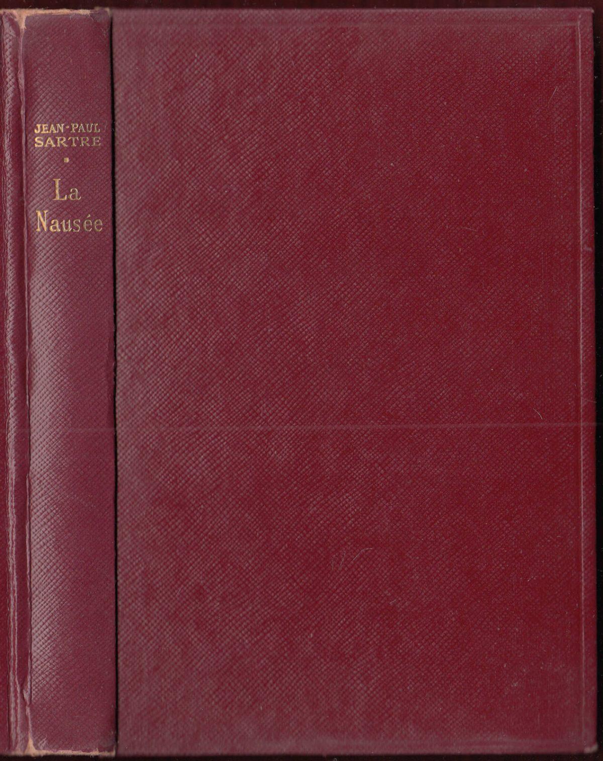 La-Nausee-Jean-Paul-Sartre-1950-Novel-Philosophy-Signed-Copy-Nausea-401702206780-3