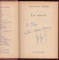 La-Nausee-Jean-Paul-Sartre-1950-Novel-Philosophy-Signed-Copy-Nausea-401702206780-4