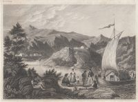 ca-1850-Original-Steel-Engraving-Bey-Palanka-Syrmien-Becka-Palanka-Danube-Serbia-182181559161