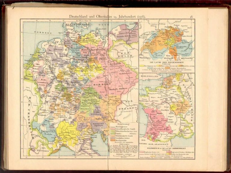 1897 germany school atlas history geography world maps europe asia 1897 germany school atlas history geography world maps gumiabroncs Gallery