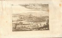 1665-Copperplate-Hungary-Engraving-Fortress-Sengrot-Lukas-Schnitzer-German-182181549575-2