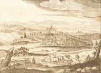 1665-Copperplate-Hungary-Engraving-Fortress-Sengrot-Lukas-Schnitzer-German-182181549575
