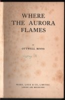 1925-Where-The-Aurora-Flames-Ottwell-Binns-Novel-UK-Rare-Ward-Lock-Fiction-401598500115