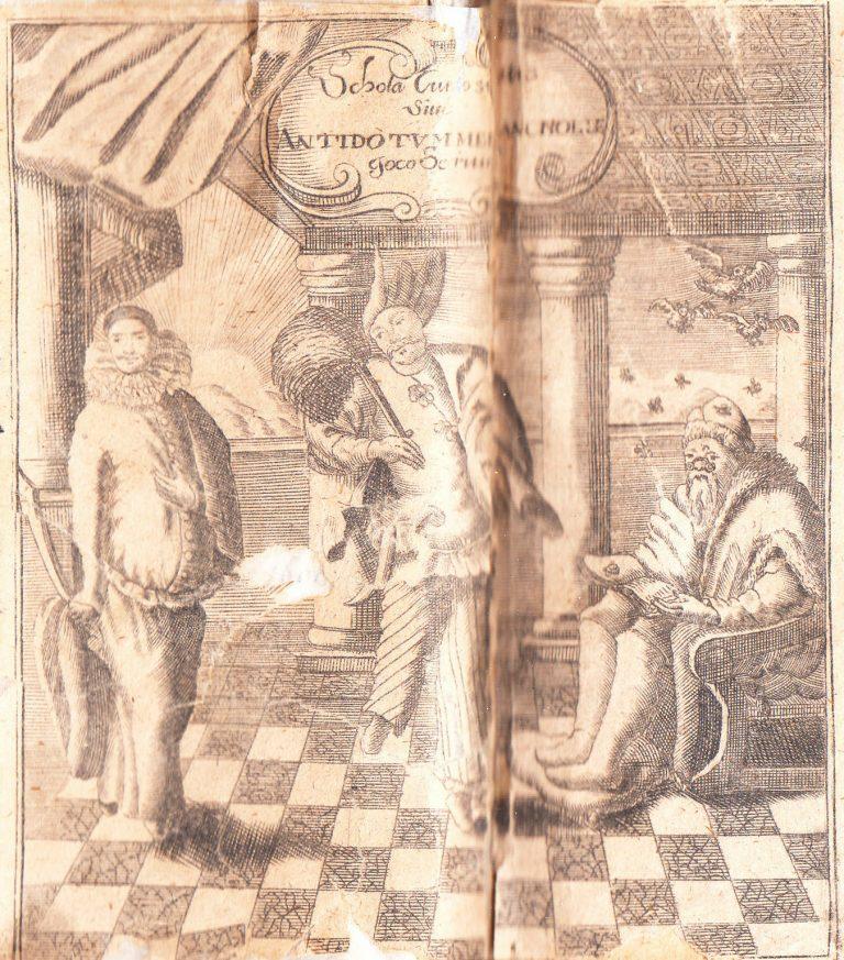 1694-Germanus-Warheit-Schola-Curiositatis-School-of-curiosity-Melancholy-German-182162470266