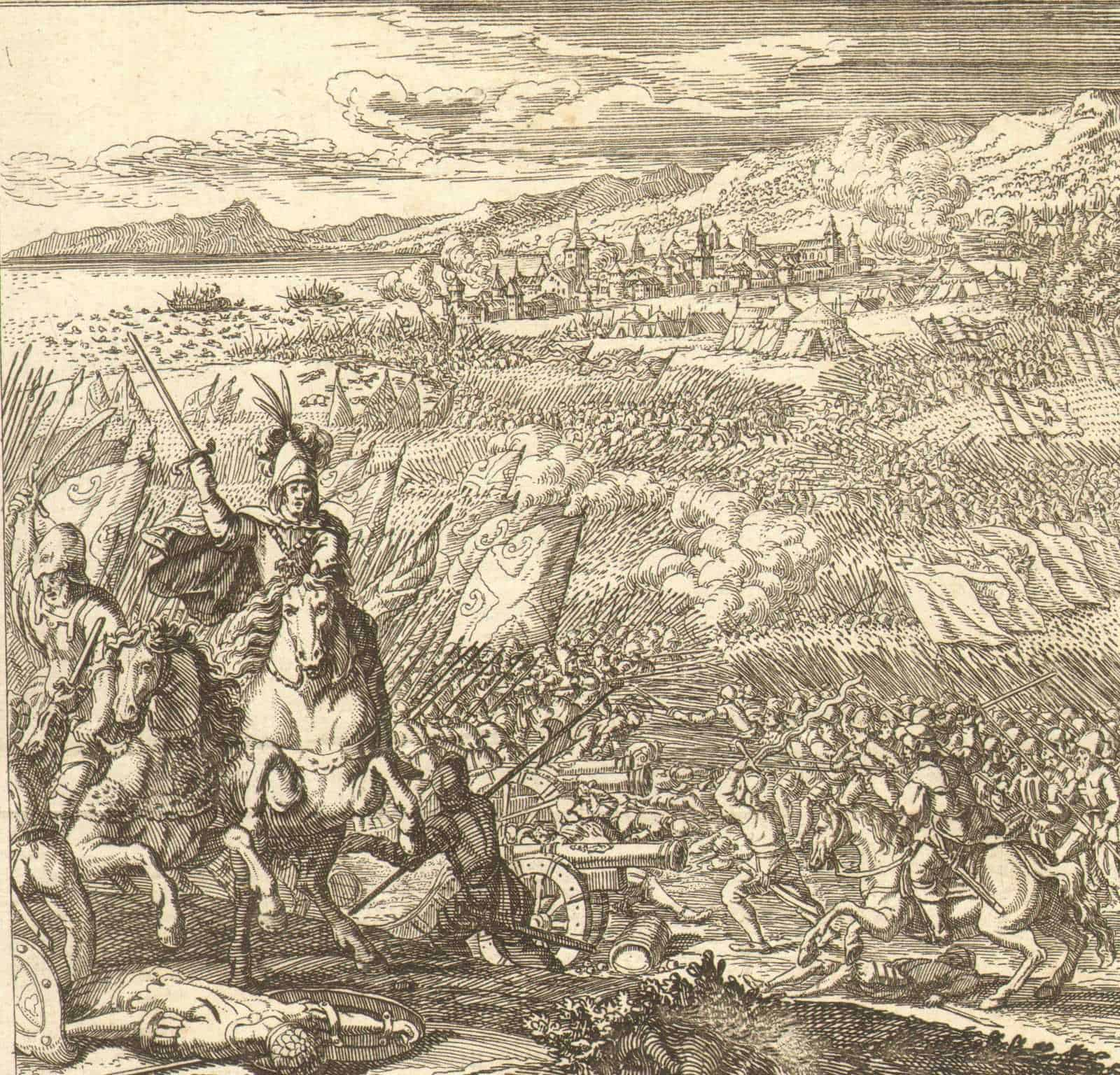 1685-Original-Single-leaf-Switzerland-Battle-of-Murten-Bern-Johannes-Meyer-401294868489