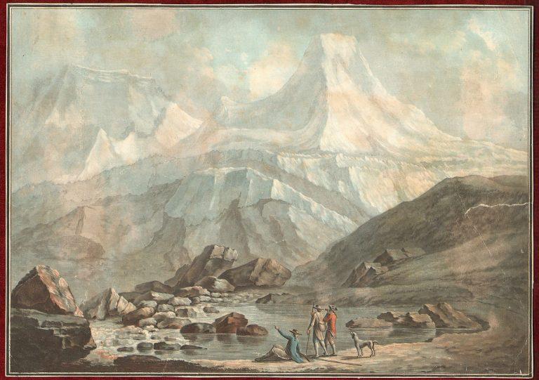 1780s-Hand-Colored-Aquatint-Alpine-Views-Alps-Charles-Melchior-Descourtis-182497590959